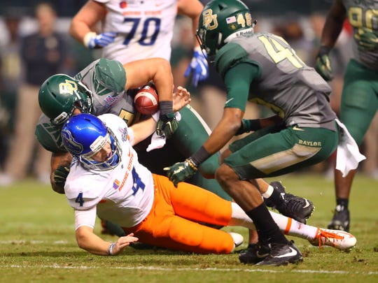 Boise State came up way short against Baylor in the