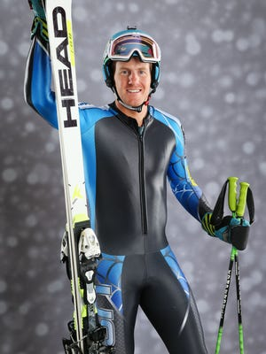 Team USA alpine skier Ted Ligety during a portrait session at the Team USA Media Summit at Canyons Grand Summit Hotel.