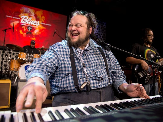 Pianist Victor Wainwright will be among those up for honors at the 39th annual Blues Music Awards this week.
