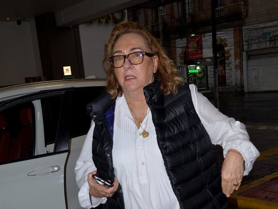 La productora Carmen Armendáriz, hija del gran actor