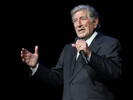 Tony Bennett AP photo art