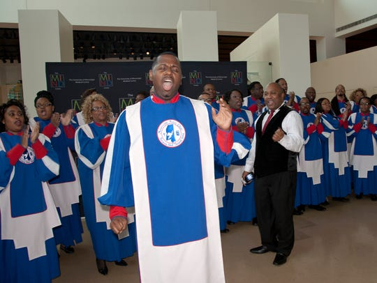 Jermichael Riley and the Mississippi Mass Choir