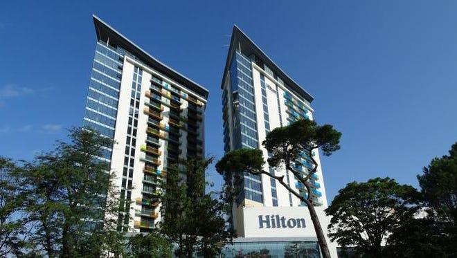 Conrad Hilton founded the hotel chain.