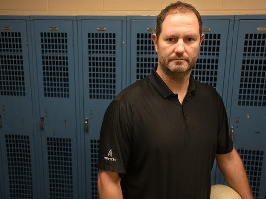 Camden's Stephen Vick is the 2015 All-West Tennessee Volleyball Coach of the Year.