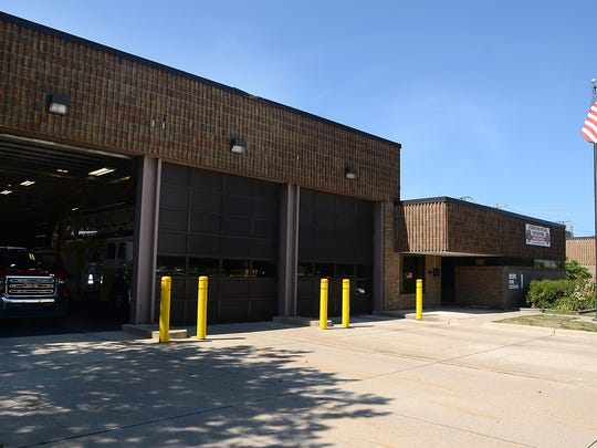 Novi's Fire Station 1 on Grand River Avenue. The city would like to replace the building, built in 1981, with a modern structure.