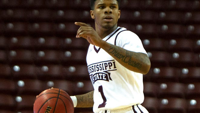 Mississippi State guard Lamar Peters scored a career-high 24 points against Georgia State on Sunday.
