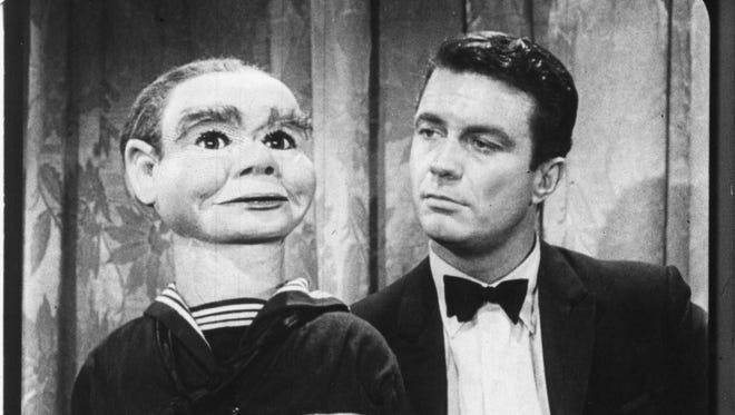 Cliff Robertson, right, and Willy the dummy appeared in an episode of the original 'Twilight Zone. CBS All Access is bringing back the classic sci-fi franchise.