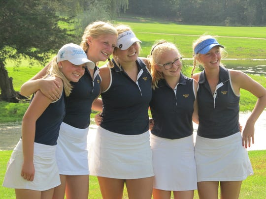 Leading Hartland into the state golf tournament for