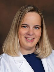 Megan Stowell, new pharmacy manager at McCrory's Pharmacy.