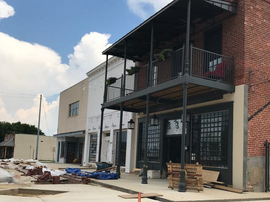 Genna Benna's restaurant and GB Bakery are under construction in The Wierhouse in downtown Brandon.