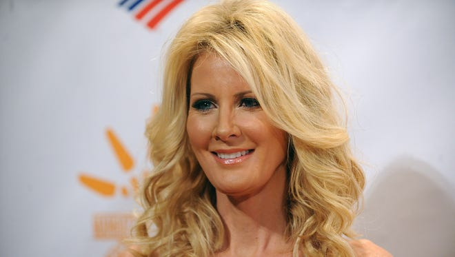 """Sandra Lee attends the Can Do Awards Dinner at Cipriani Wall Street in New York in this April 30, 2013, file photo,. Lee was diagnosed with breast cancer and had a double mastectomy in May 2015. In September 2015, the popular lifestyle personality and live-in girlfriend of New York Gov. Andrew Cuomo   announced that she was cancer free. She divulged the news on ABC's """"Good Morning America"""" in an interview aired Sept. 22, 2015."""