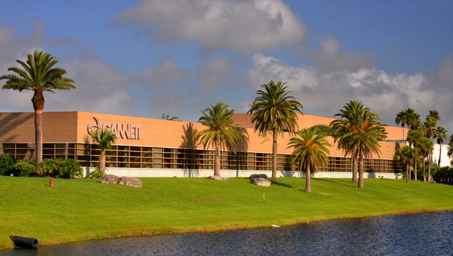 The FLORIDA TODAY building on U.S. 1, between Rockledge and Melbourne.