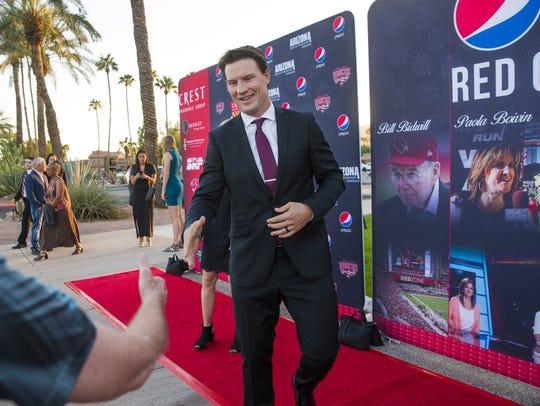 Shane Doan, former Arizona Coyotes captain, arrives