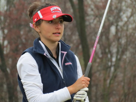 Senior Brooke Schaffer and Northern Highlands vie for