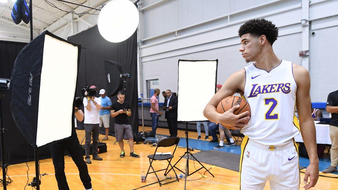 uk availability 453bb f4f97  Surreal   Panini photo shoot gives rookies taste of NBA