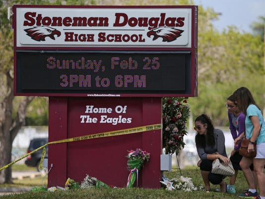 Marjory Stoneman Douglas High School open house