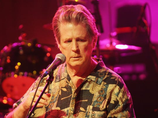 """Brian Wilson performs songs from """"Brian Wilson Presents Smile"""" at the Walt Disney Concert Hall on Nov. 3, 2004, in Los Angeles."""