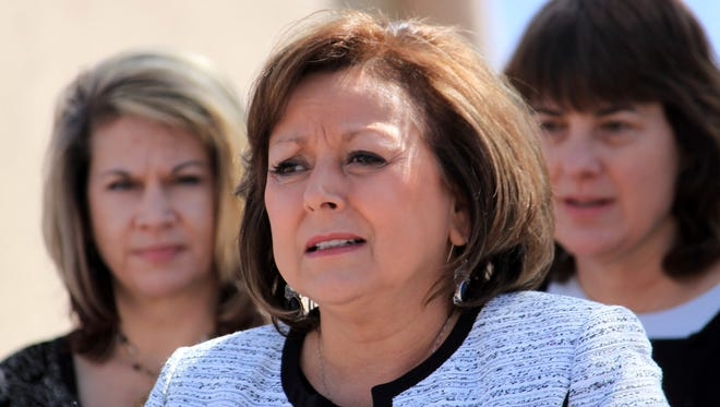 "Public school spending, the state's single largest budget item, would increase by $52 million, under the Legislature's plan. Governor Susana Martinez called for a larger, $70 million increase that would create an ""exemplary teacher fund"" to boost annual pay by as much as $10,000 for teachers that produce high student achievement."