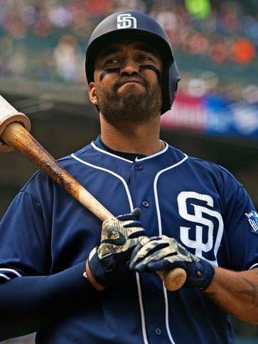 Matt Kemp is batting .262 with 23 home runs this season.