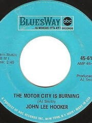 """""""The Motor City is Burning"""" was recorded by John Lee Hooker in late 1967."""