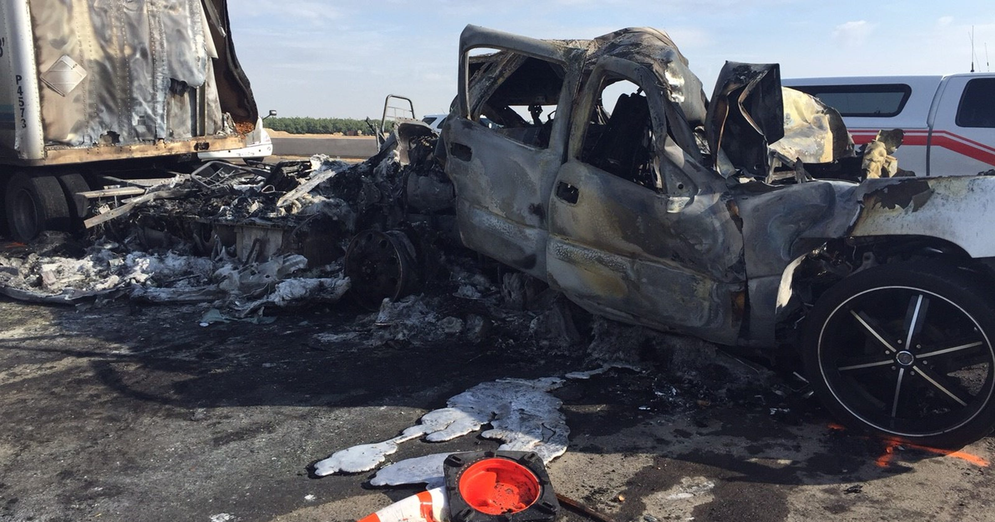 Fatal crash reported on Highway 99