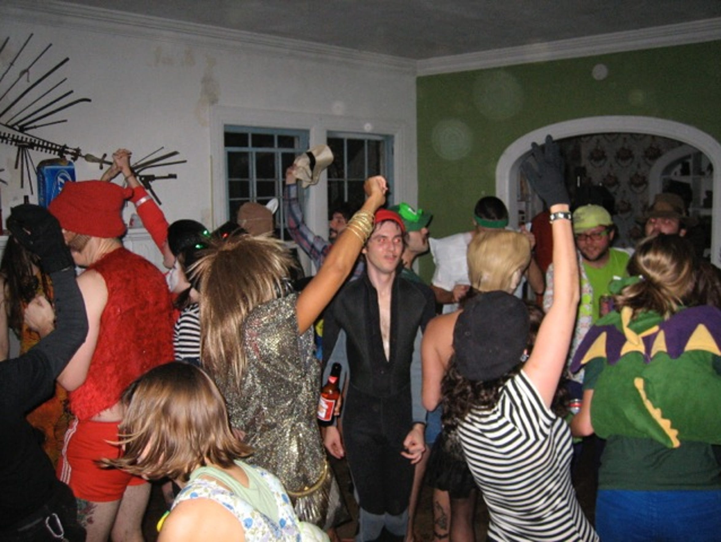 Party-goers flocked to Charles Mansion for epic parties