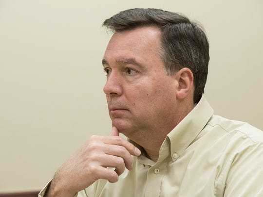 Plymouth Township Treasurer Mark Clinton says current