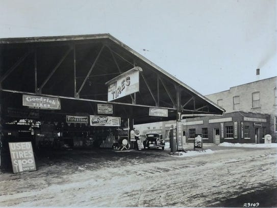 Ray Payne Tire Sales was located at 323 N. Washington.