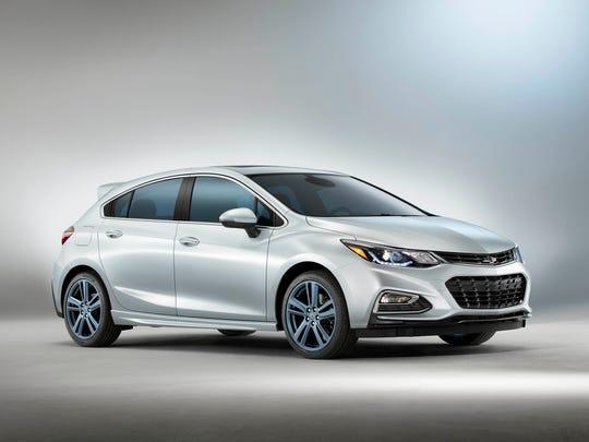 Chevrolet previews the Cruze RS Hatch Blue Line concept at the 2016 SEMA Show