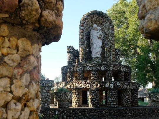 The Mother of God grotto has been presented to a nonprofit organization which hopes to refurbish and preserve the Jasper shrine.