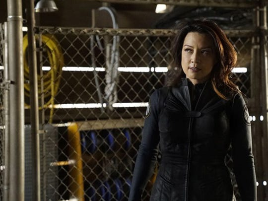 Ming-Na Wen plays both Agent Melinda May and now the