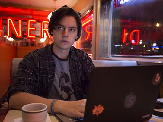 "Cole Sprouse stars as aspiring writer Forsythe P. ""Jughead"" Jones on ""Riverdale."""