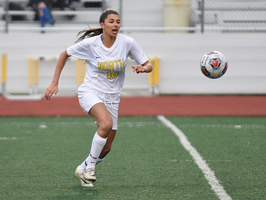 North Farmington senior Sam Randel (16) is a versatile