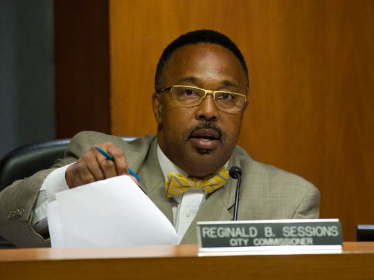 Fort Pierce City Commissioner Reginald Sessions.