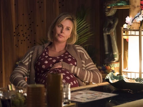"Charlize Theron stars in ""Tully,"" opening May 4 at"