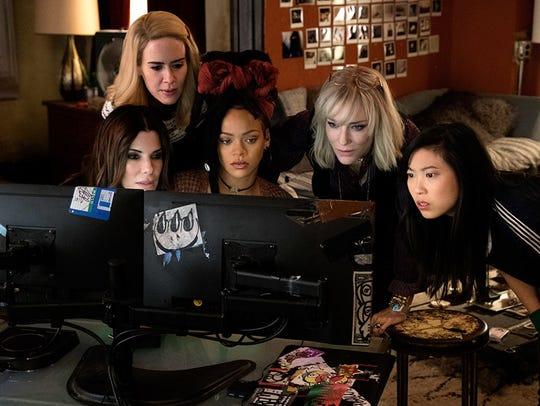 Sandra Bullock, Cate Blanchett, Sarah Paulson, Rihanna,