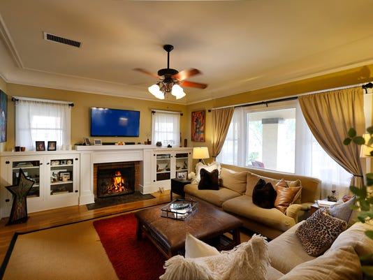 The main living room