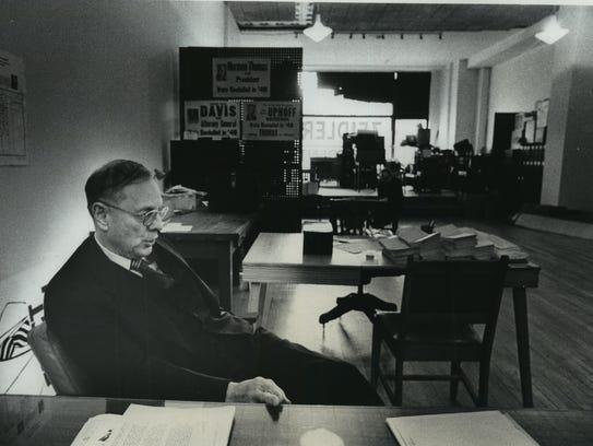 Frank P. Zeidler, the former Milwaukee mayor and Socialist