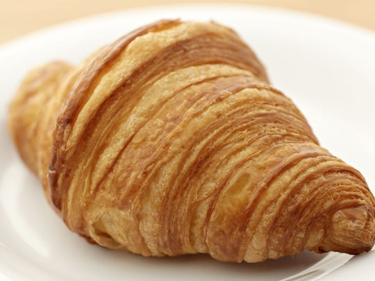 The butter croissant from Essence Bakery Cafe in Arcadia.