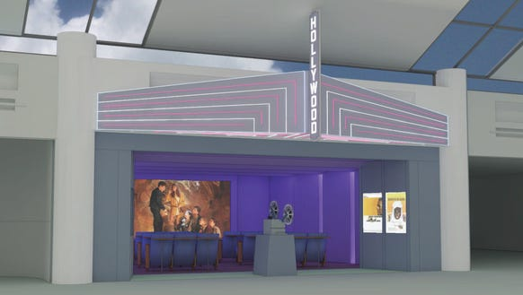 A rendering of the movie theater coming to Portland