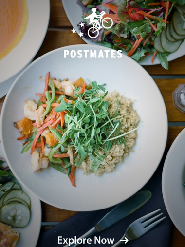 Postmates is a delivery service app that launched in