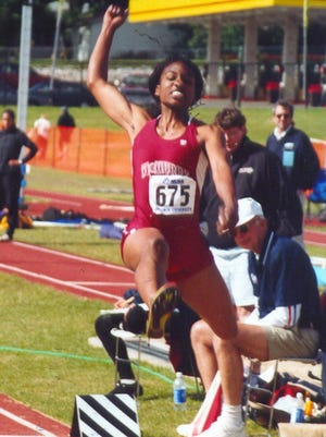 Darcell Edwards, a 1998 Coleman grad, didn't start jumping until her junior year in high school. She ended up becoming a Division III national champion in both the triple jump and long jump at McMurry. She even set a Division III national record in the triple jump.