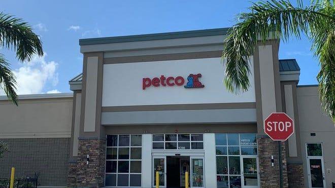 A Petco location.