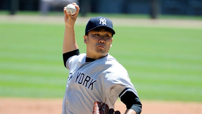 Right-hander Masahiro Tanaka, who was a superstar in Japan, is living up to the hype with the Yankees.