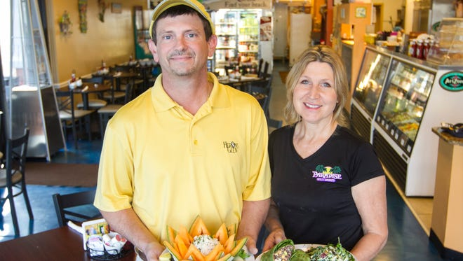 Chris and Glee Ann Agius own Paradise Deli & Market in Cape Coral.