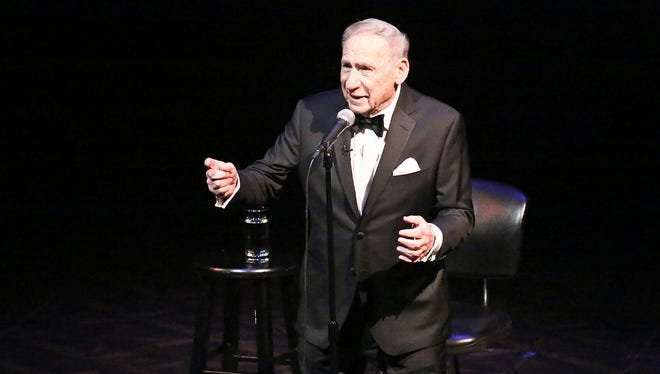 The multitalented Mel Brooks entertains live in Los Angeles.