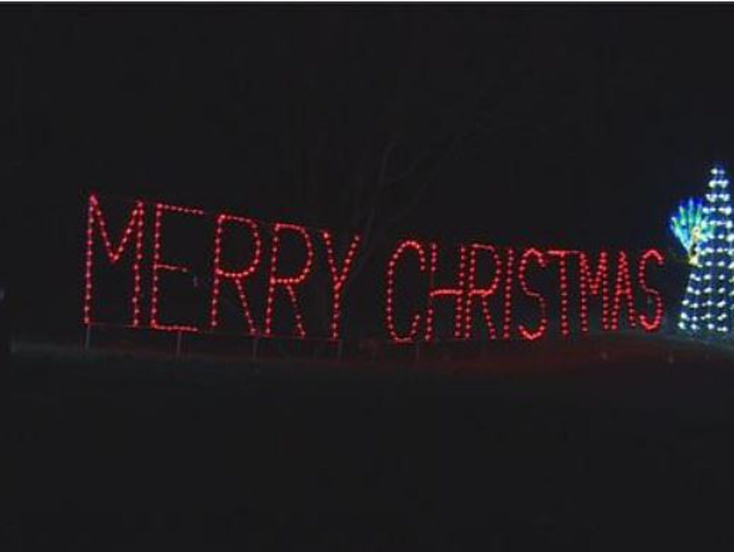 Tanglewood Christmas Lights