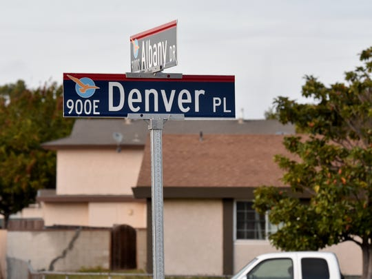 Police say a home on the 900 block of Denver Place
