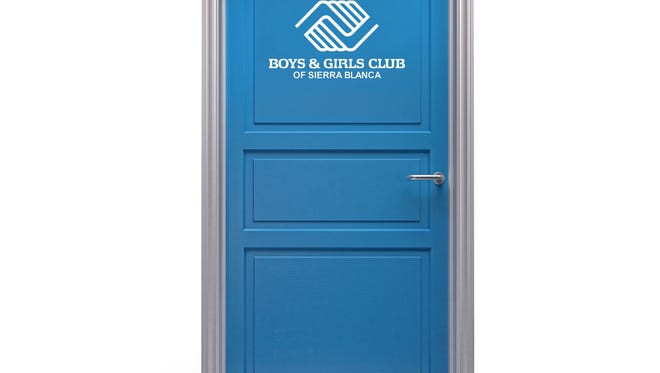 Boys and girls clubs across the country use a blue door to signify a welcome place to have fun and be safe for all kids who need us the most.