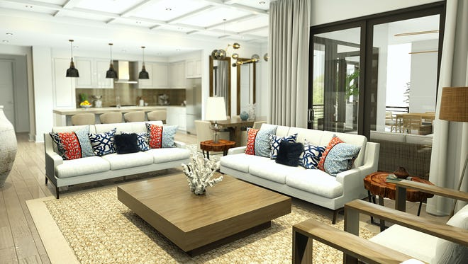 The Ronto Group's Phase I offering at Eleven Eleven Central on Central Avenue in downtown Naples includes five light-filled open-concept floor plans.Pre-construction pricing starts in the mid-$500s.